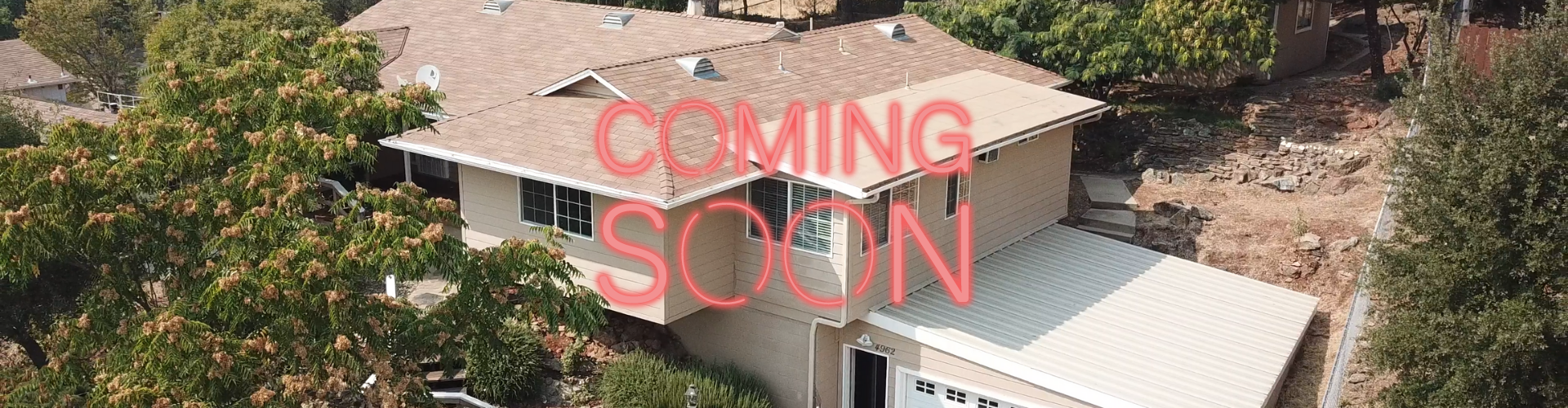 We will soon be opening up our latest property, a retro 1960's house with three full bedrooms and three baths, with a lovely backyard and plenty of room to accommodate a large family!